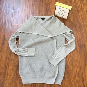Theory Cardigan in Gray Size Small